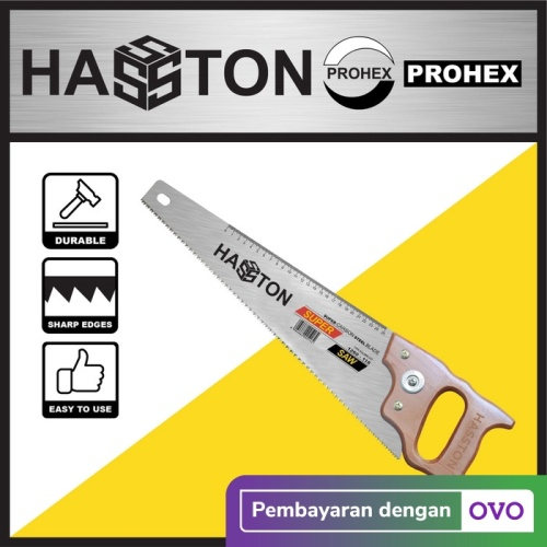 Foto Produk HASSTON PROHEX Gergaji 18inc Kayu Tangan (1260-118) dari Hasston Prohex