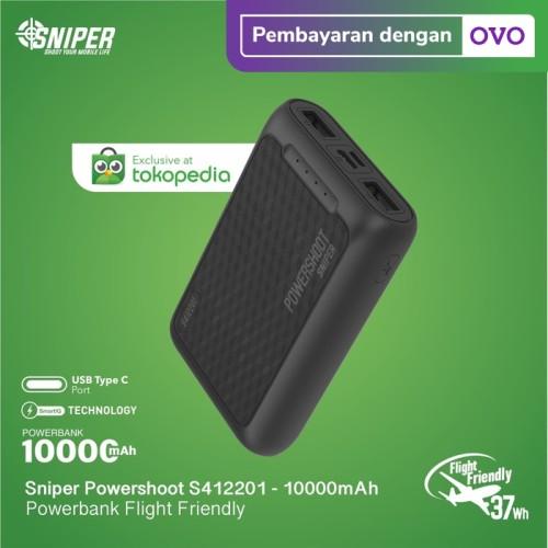 Foto Produk Powerbank Sniper 10000 mAh Powershoot S412201 dari Sniper Indonesia