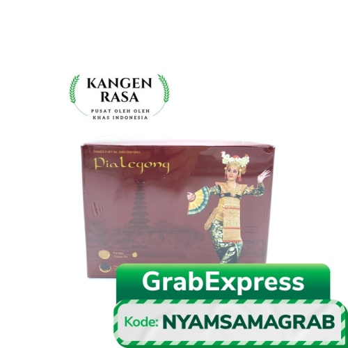 Foto Produk PIA LEGONG BALI - MIX COKLAT KEJU dari Kangen Rasa Oleh Oleh