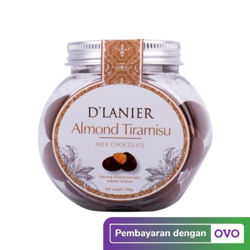 Foto Produk D'Lanier Chocolate Almond Tiramisu with Milk Chocolate (100gr) dari D'Lanier