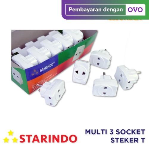Foto Produk Starindo Multi 3 Socket Steker T dari Delta Electrica
