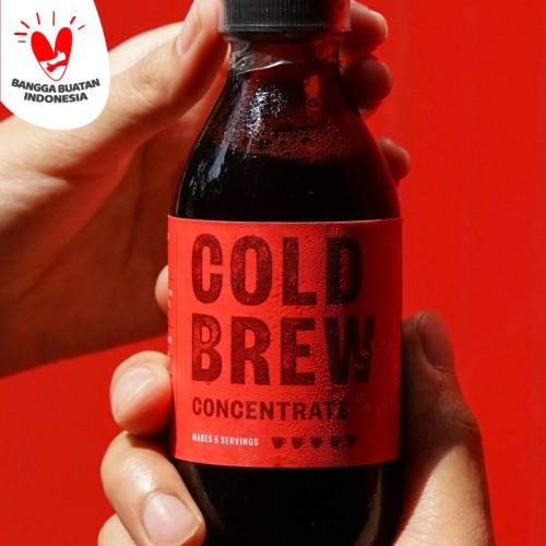 Foto Produk COLD BREW CONCENTRATE 150ML, KOPI KONSENTRAT by TANAMERA COFFEE - 1 Bottle dari Tanamera Coffee