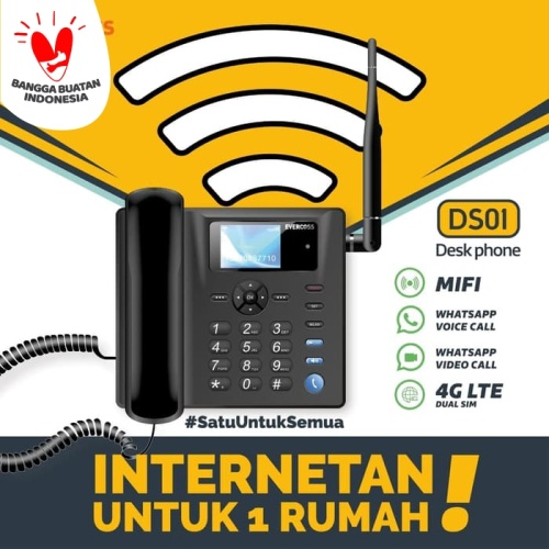 Foto Produk Evercoss Desk Phone DS01 dari EVERCOSS OFFICIAL STORE