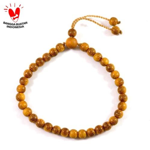 Foto Produk Gelang Tasbih Galih Kelor Serat Emas dari Indah Craft