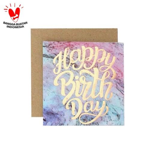 Foto Produk Kartu Ucapan / Blank Card Harvest Magic Wishes - Birthday dari Harvest Goods