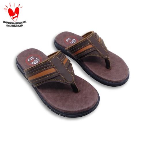 Foto Produk Sandal Anak Laki-laki Fit To Feet Agam - Coklat Kombinasi - 27 dari CHUBBY CHOO-BEE