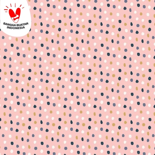 Foto Produk Kertas Kado Harvest / Wrapping Paper Simplicity - Color Dots dari Harvest Goods