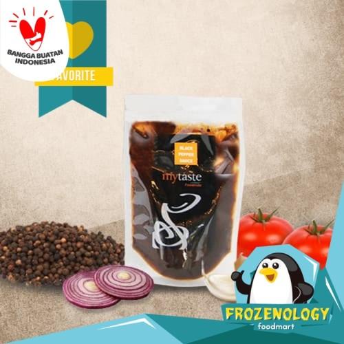Foto Produk Saus Lada Hitam Blackpepper Sauce My Taste 500 gr Best Seller ! g gram dari frozenology