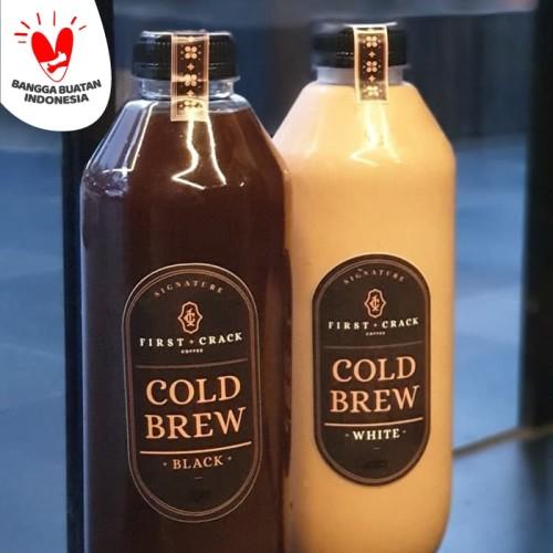 Foto Produk Paket Cold Brew 1L - isi 2 Pcs - White - White dari First Crack Coffee