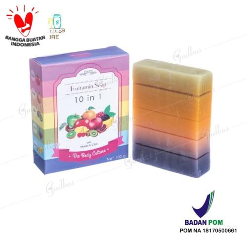 Foto Produk Fruitamin Soap 10in1 The Body Culture BPOM dari GudKos