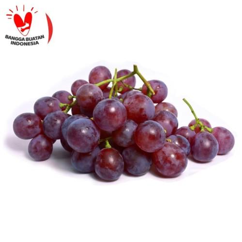 Foto Produk My Fruit Anggur Red Globe Buah 500 gr dari My Fruit