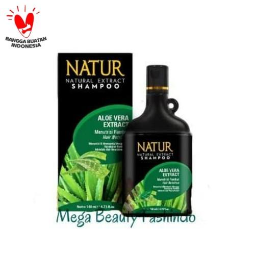 Foto Produk Natur Shampo Shampoo Aloe Vera Aloevera Extract 270ML dari Mega Beauty Fashindo