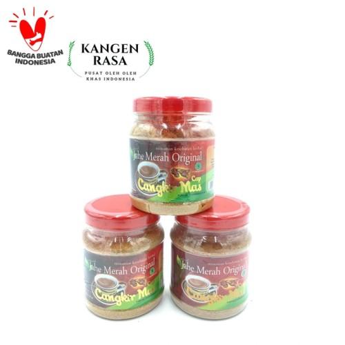 Foto Produk Jahe Merah Original Cangkir Mas dari Kangen Rasa Oleh Oleh