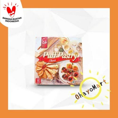 Foto Produk Edo Puff Pastry Sheet/ Roti Beku Unbaked/ Adonan Roti 750grm dari OhayoMart
