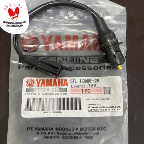 Foto Produk Switch Rem Kanan Depan Yamaha Mio 5TL dari yaay auto part motor