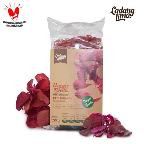 Foto Produk Mie Bayam Merah Ladang Lima 150gram dari Official Ladang Lima