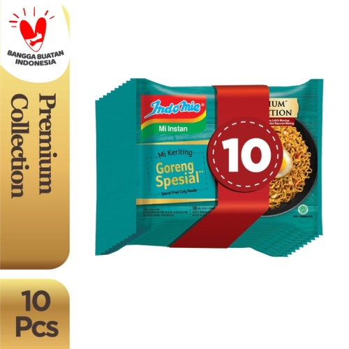 Foto Produk 10 Pcs - Indomie Mi Keriting Goreng Spesial dari Indomie Official Store