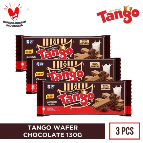 Foto Produk WAFER TANGO 130GR [ISI 3PCS] - COKELAT dari OT STORE OFFICIAL