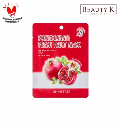 Foto Produk BeautyK Shinetree Pomegranate Fresh Fruit Mask Sheet dari BeautyK Indonesia
