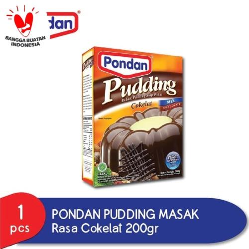 Foto Produk Pudding masak cokelat dari Pondan Food