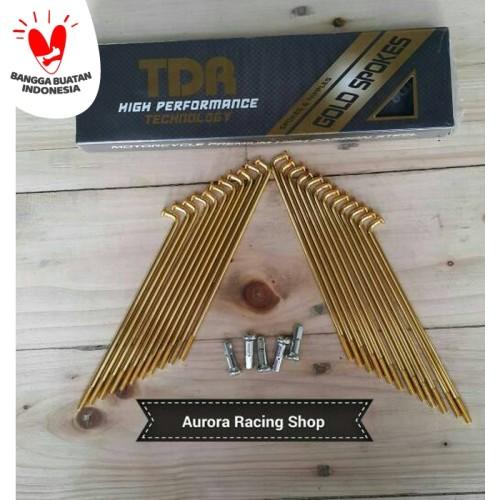 Foto Produk Jari- Jari TDR Gold dari auroraracingshop