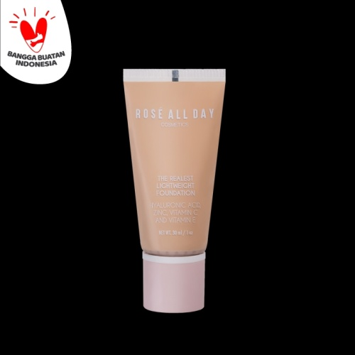 Foto Produk Rose All Day The Realest Lightweight Foundation in Fair dari Rose All Day Cosmetics