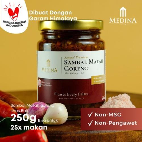 Foto Produk Sambal Matah Goreng Khas Bali (250gr) - Medina Catering dari Medina Catering