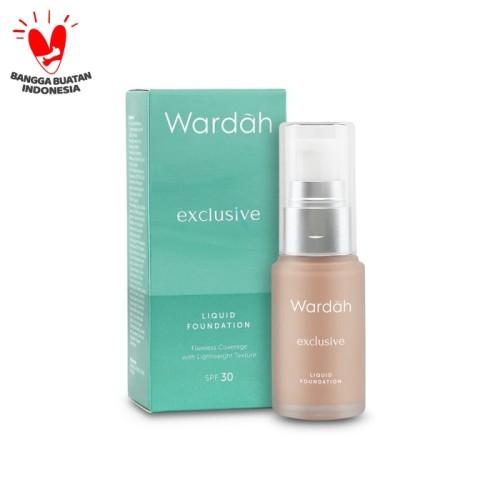 Foto Produk [NEW] Wardah Exclusive Liquid Foundation 02 Sheer Pink 20 ml dari Wardah Official