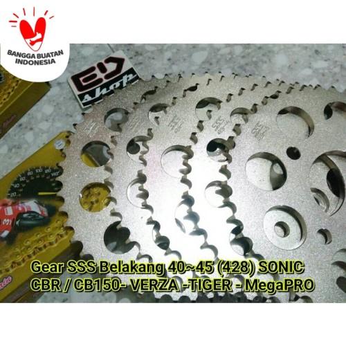 Foto Produk gear BELAKANG SSS 428 / 40 ~ 45 SONIC CBR 150 CB150 VERZA MEGAPRO dari ED-SHOP
