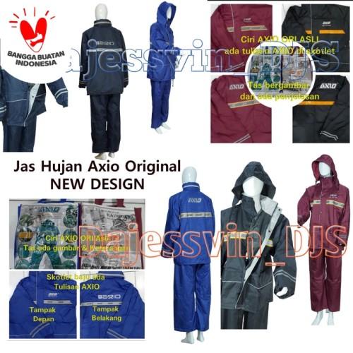 Foto Produk Jas hujan Axio 882 europe original silver series - raincoat Axio dari dajessvin