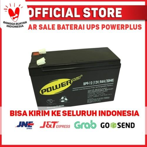 Foto Produk Baterai / Battery UPS 12v-9ah VRLA SLA dari PowerPlus