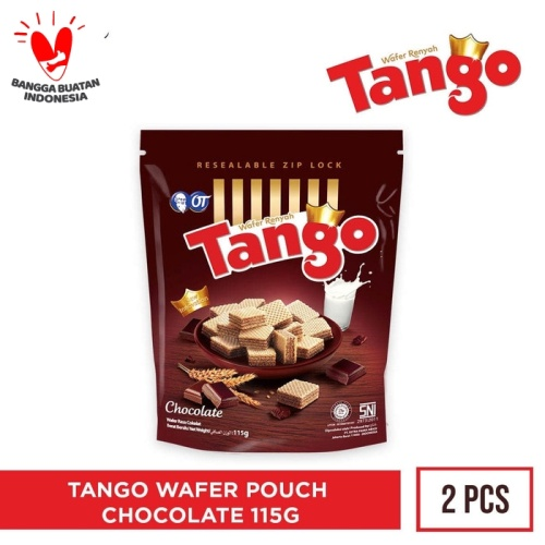 Foto Produk WAFER TANGO POUCH CHOCOLATE 125GR [ISI 2PCS] dari OT STORE OFFICIAL