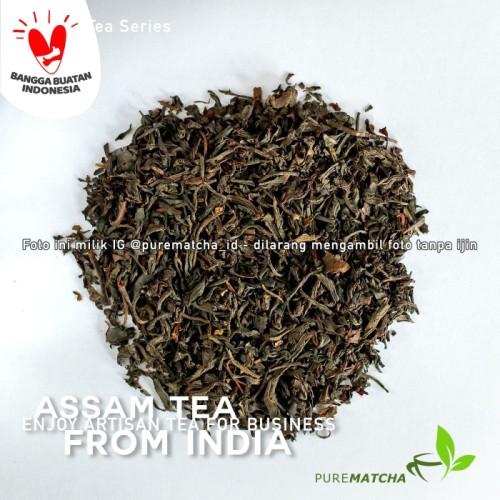 Foto Produk Artisan Tea Cafe - Indian Assam Black Tea 50gr Teh Hitam Assam India dari Pure Matcha