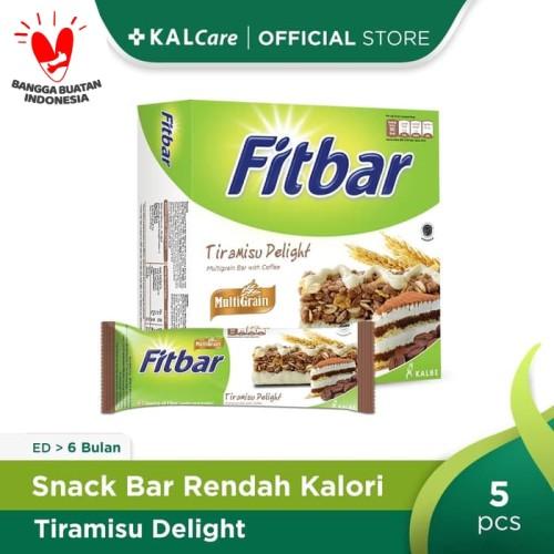 Foto Produk Fitbar Multigrain Tiramisu Delight 5X22gr Bundling 3 Kotak dari KALCare Official Store