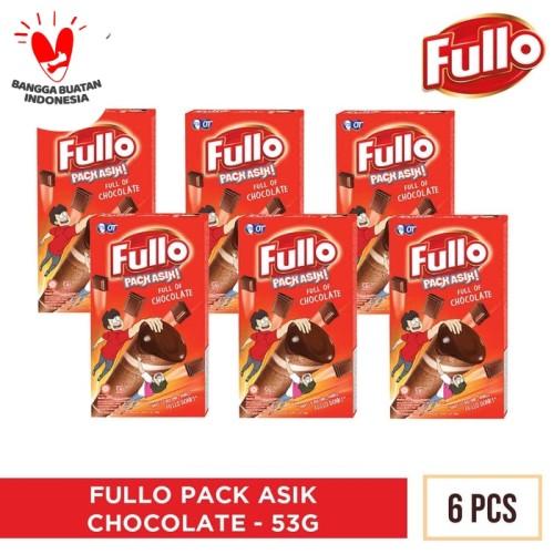Foto Produk FULLO COKLAT PACK ASIK 53GR [ISI 6PCS] - Chocolate dari OT STORE OFFICIAL
