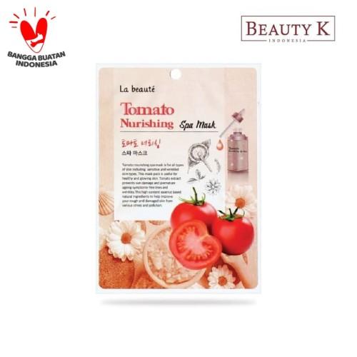 Foto Produk BeautyK La Beaute Tomato Nourishing Spa Mask dari BeautyK Indonesia