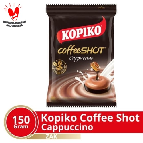 Foto Produk Kopiko Coffee Shot Cappuccino Zak 150 Gr @ 50 Pcs dari Mayora Official Store