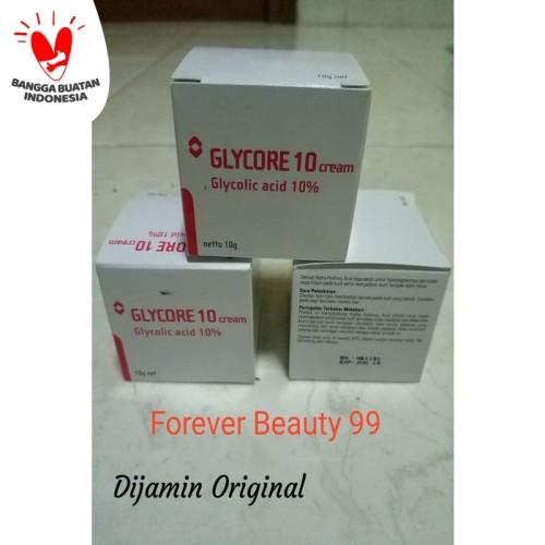 Foto Produk Glycore 10% cream 10 gr (krim pencerah /pemutih) dari Forever Beauty 99