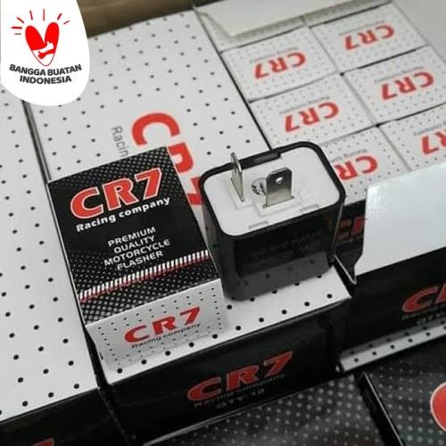 Foto Produk Flasher Led CR7 Flaser Sen Bisa Stel Kedip Cepat Lambat Sein motor dari KUFA Varian