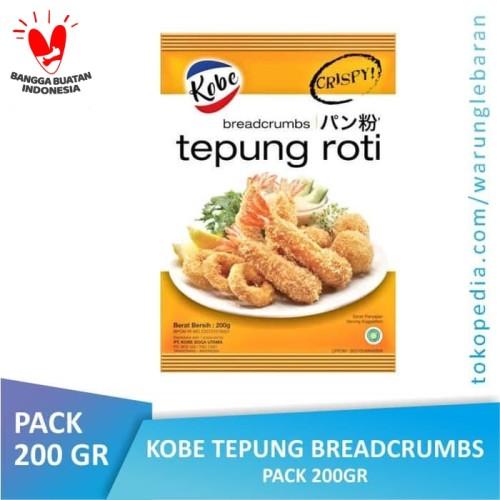 Foto Produk [PACK] KOBE Tepung Breadcrumbs Roti 200 gr dari Warung Lebaran