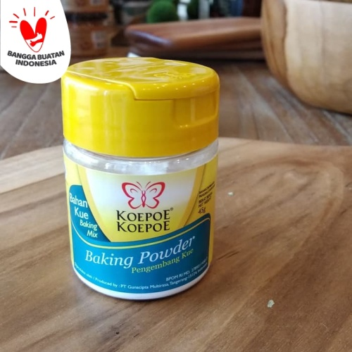 Foto Produk Baking Powder Koepoe Koepoe 45 Gr dari Herbs & Co - Gourmet Grocer