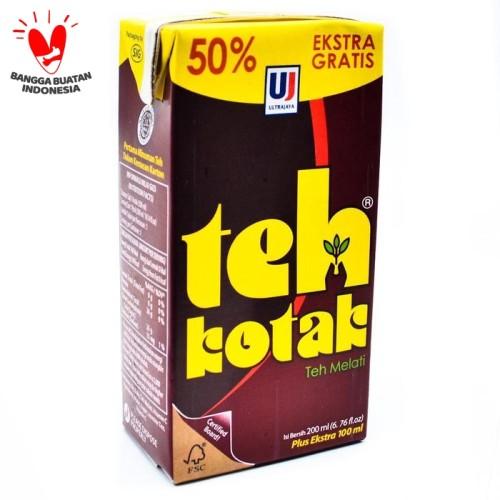 Foto Produk Teh Kotak ULTRA - Isi 200 ml bonus 50% jadi isinya 300 ml dari 3F Retail