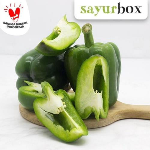 Foto Produk Paprika Hijau Value - 1 pc (Sayurbox) dari Sayurbox