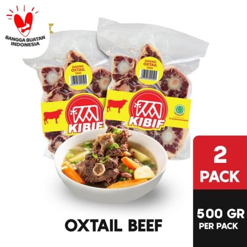 Foto Produk KIBIF Buntut Sapi / Oxtail @ 500 Gr Multipack dari KIBIF Official Store