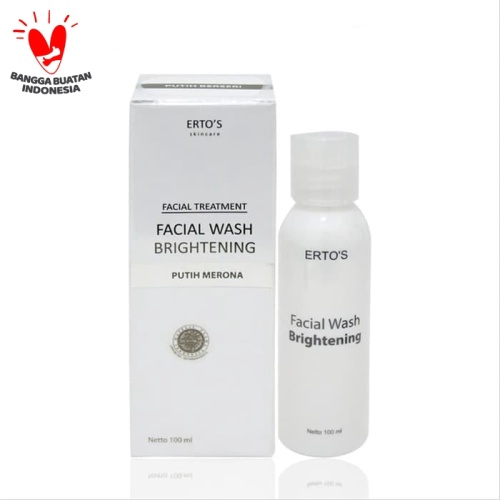Foto Produk Ertos Facial Wash Brightening Treatment - Skincare Original BPOM dari duadus