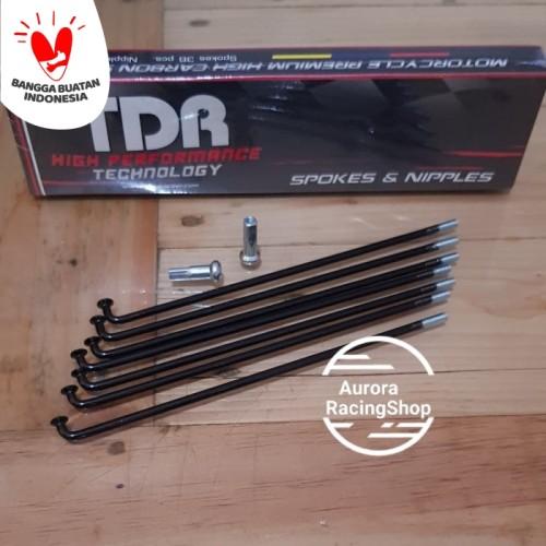 Foto Produk Jari- Jari TDR Black dari auroraracingshop