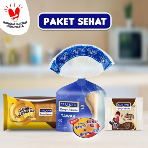 Foto Produk Sari Roti Paket Sehat dari sari roti