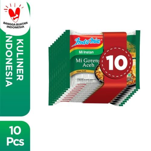 Foto Produk 10 Pcs - Indomie Mi Goreng Aceh dari Indomie Official Store