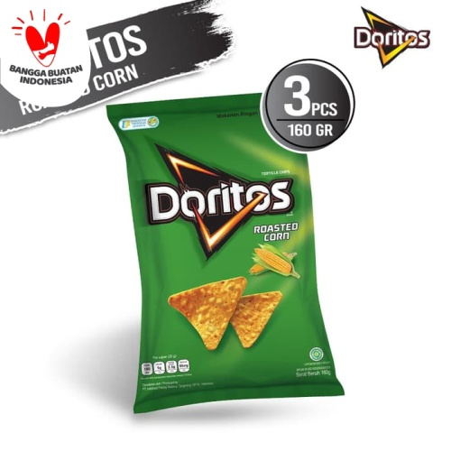 Foto Produk Doritos Roasted Corn 160 Gr - 3 Pcs dari Indofood Snack Time