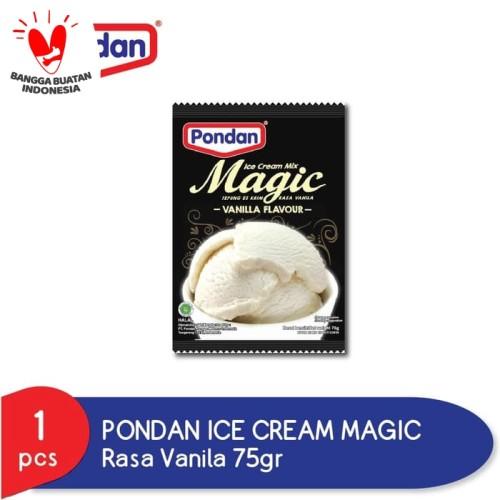 Foto Produk PONDAN ICE CREAM MAGIC VANILLA POUCH 75GR dari Pondan Food